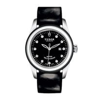 튜더 (Tudor) 53010N-BlackPaternLeather-Black- Glamour Date in...