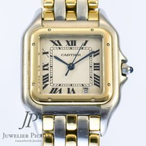 Cartier Panthere MEDIUM Stahl/Gold org Papiere Damenuhr