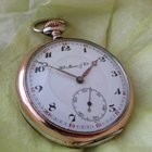 H.Moser & Cie. vintage silver pocket watch, serviced