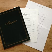 Breguet Catalog Katalog 1984