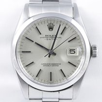 Rolex Oyster Perpetual Date Chronometer Oysterband Folded
