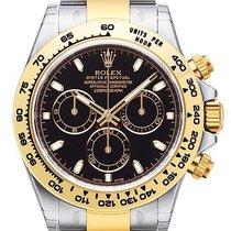 Rolex Daytona Cosmograph 40 Edelstahl / Gelbgold 116503 Schwarz