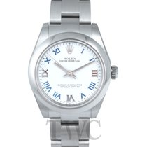ロレックス (Rolex) Oyster Perpetual Midsize White/Steel Ø31 mm -...