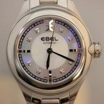 Ebel Onde Perlmutt Diamanten 30mm Damenuhr Automatik NEU