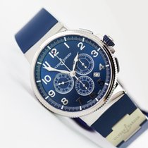 Ulysse Nardin Marine Chronograph Blue Metal Manufacture