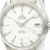 Omega Polished Omega Seamaster Aqua Terra Co-axial Watch...