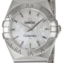 Omega 123.10.24.60.05.001 Constellation Mini Steel Women's...