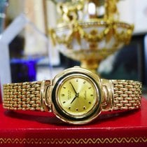 Rolex Geneve Cellini Ref. 5188 18k Yellow Gold Watch Circa 1990