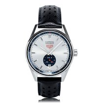TAG Heuer Carrera Stainless Steel Blue Mens Watch WV5111.FC6350
