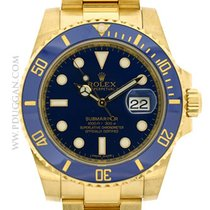 Rolex 18k yellow gold Submariner