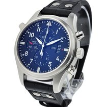 IWC IW377801 Pilots Doupple Chronograph - Classic - Stainless...