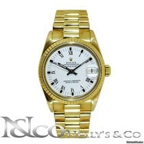 Rolex DateJust Midsize Presidential 18K Yellow Gold