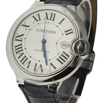 Cartier W69016Z4 Ballon Bleu de Cartier in Steel - on Brown...