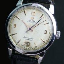 Omega Seamaster Calendar Automatic Date Steel Mens Watch...