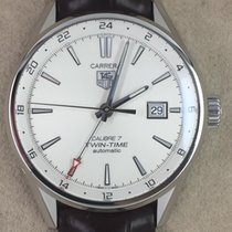 TAG Heuer Carrera Calibre 7 Twin-Time Automatik Ref. WAR2011.F...