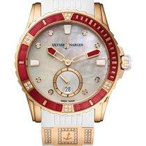 Ulysse Nardin Diver Lady 18K Rose Gold & Diamonds Watch