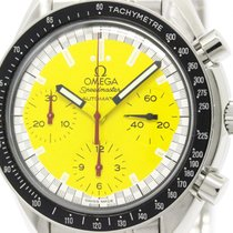 Omega Polished Omega Speedmaster Michael Schumacher Yellow...
