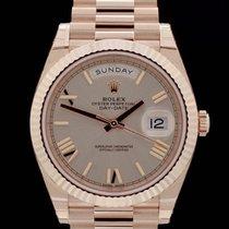 Rolex Day-Date II - Ref. 228235 - Everose - Box/Papiere - 40mm...