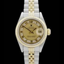 Rolex Datejust Lady - Ref.: 69173 - Box/Papiere - Stahl/18....