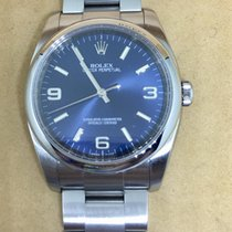 Rolex Oyster Perpetual Blue Dial 36mm 2008 Ref.116000