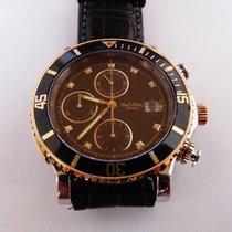 Paul Picot Le chronographe cronografo automatico acciaio e oro...