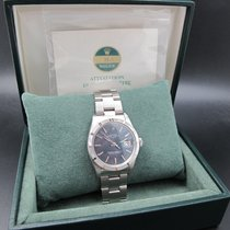 Rolex OYSTER DATE 1501 with Original Bluish Grey Dial and Paper