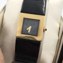 Chanel 18k Matelasse Ladies Watch Quartz  -box Paper