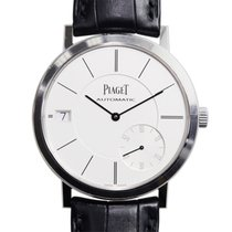 Piaget Altiplano 18k Platinum Silver Automatic G0A38130