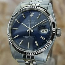 Rolex Vintage Datejust 1978 Mens 18k Stainless 1601 Swiss...