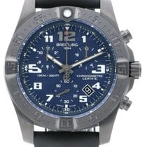 Breitling Chronospace Evo Night Vision 43 Titanium Men Watch...