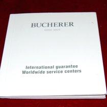 Carl F. Bucherer Internationale Garantie Buch/ Heft