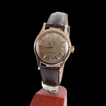 Omega constellation automatic red gold men size