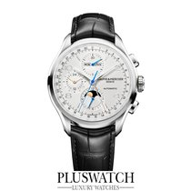 Baume & Mercier Clifton Automatic Cronograph Steel/Leather...