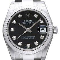 ロレックス (Rolex) Oyster Datejust 31 Ref. 178274 Schwarz DIA