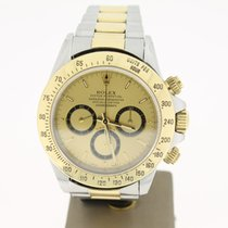 Rolex Daytona Steel/Gold GOLD Dial (B&P1998) Zenith 40MM
