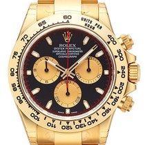 Rolex Cosmograph Daytona 18 kt Gelbgold 116508 Schwarz Champagner