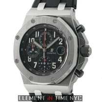 Audemars Piguet Royal Oak Offshore Stainless Steel 42mm Black...
