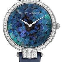 Harry Winston Premier Feathers Ladies Quartz 36mm prnqhm36ww005