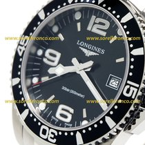 Longines HYDROCONQUEST - 41mm Quartz  Black Dial - L37404566