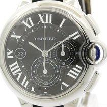 Cartier Polished Cartier Ballon Bleu Chronograph Steel...
