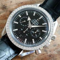 Omega Speedmaster – Diamonds, Broad Arrow – Automatic chronogr...