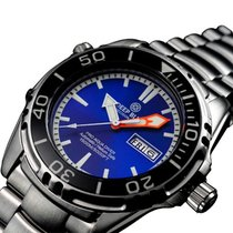 Deep Blue Pro Aqua 1500 Diving Watch Auto Day/date 45mm...