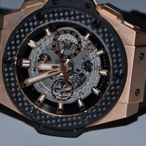Hublot King Power Skeleton Unico Carbon 18K Solid Rose Gold 48MM