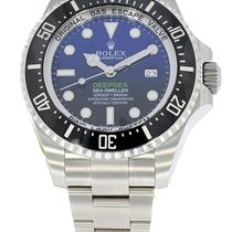 Rolex Blue Black Dial Deepsea D Blue Sea-Dweller