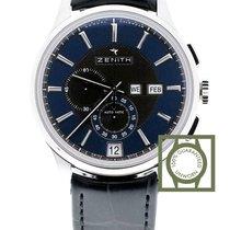 Zenith El Primero Captain Winsor 42 Annual Calendar blue dial new
