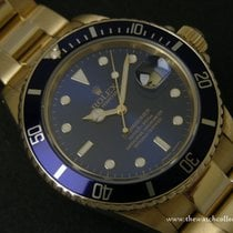 """Rolex Vintage: Vintage Submariner Gold 18 K """"Ref.16808&#34..."""