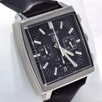 TAG Heuer Monaco Chronograph 38mm Steel Automatic Men's...