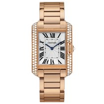 Cartier Tank Anglaise Automatic Mens Watch Ref WT100027