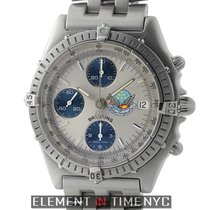 Breitling Chronomat Blue Impulse Chronograph  Stainless Steel...