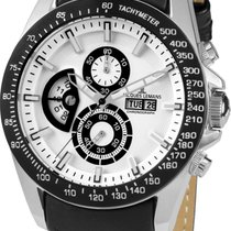 Jacques Lemans Liverpool GMT 1-1635B Herrenchronograph Sehr...
